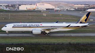 Singapore A350-941 msn 62