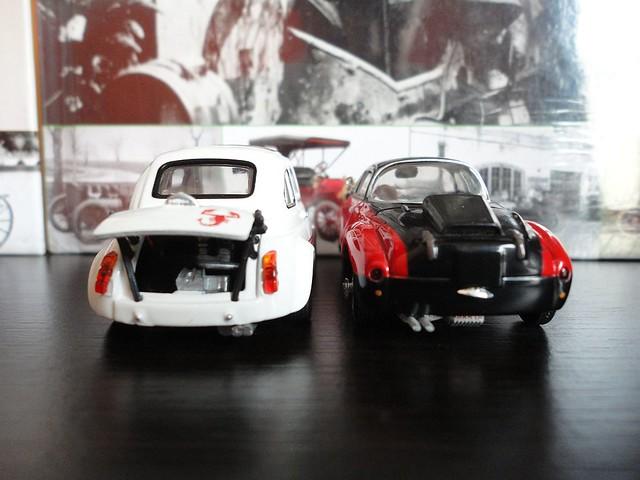 Fiat Abarth 750 Vignale (1957) 1/43 (Metro - Leo Models)