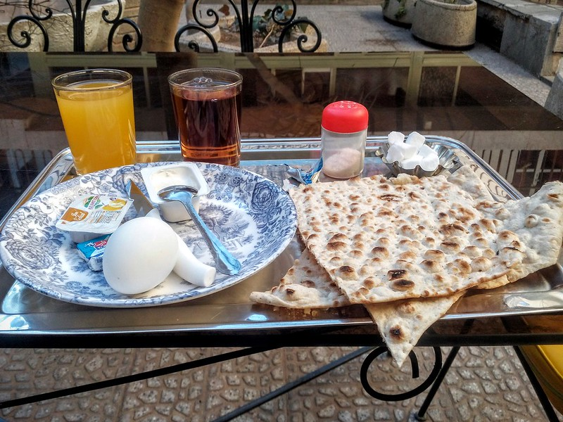 Иранский завтрак