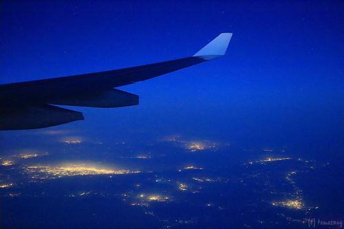 Back to Fukuoka over Kagoshima pref.