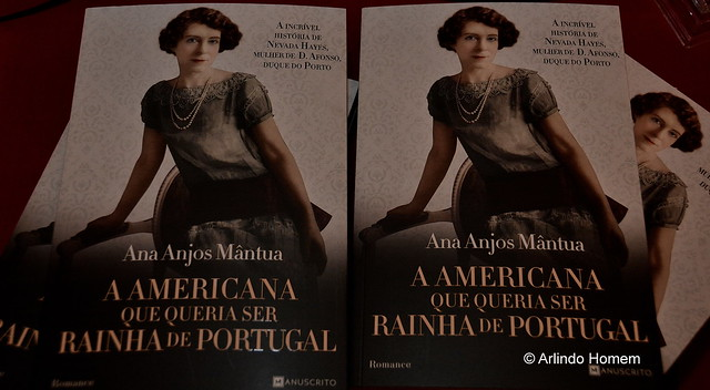 Apresentação no Palácio Nacional da Ajuda o livro «A AMERICANA QUE QUERIA SE RAINHA DE PORTUGAL», de Ana Anjos Mântua.