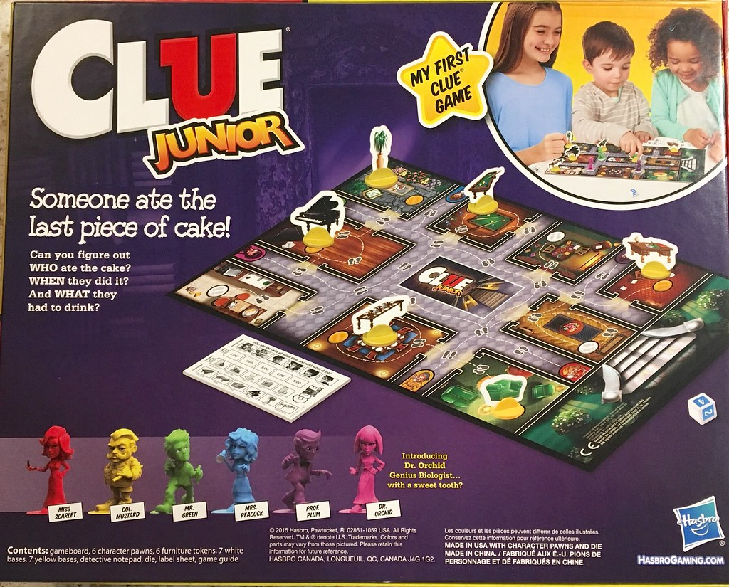 Clue Game Rules, Instructions & Directions