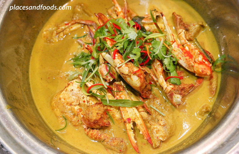 traders hotel kl gobo chit chat curry crab