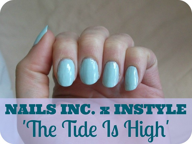 NOTD Nails Inc InStyle The Tide Is High