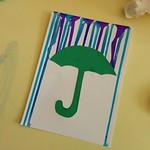 Carte parapluie - étape 5