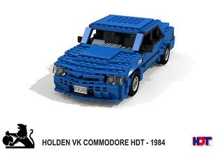 Holden VK HDT  Commodore SS Group-A 'Blue Meanie' (1985)