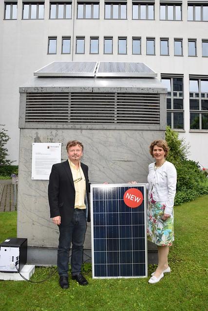 Einweihung Plug-In-Solaranlage 22.05.2015