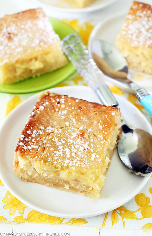 St. Louis Gooey Butter Cake | Cinnamon-Spice & Everything Nice