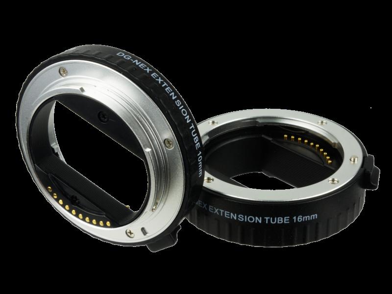 auto focus macro extension tube sony nex e mount