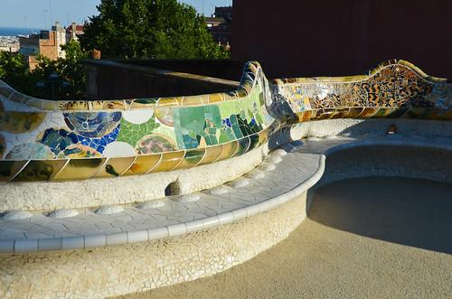 Gaudi's Park Güell Benches