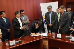 Firma Acuerdo y Convenio