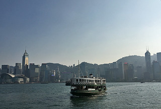 Star Ferry - View of HK Central