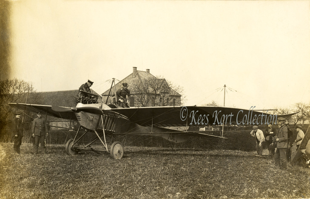 A Gotha LE2 Taube Preparing For Take Off In The Early Spring 1914