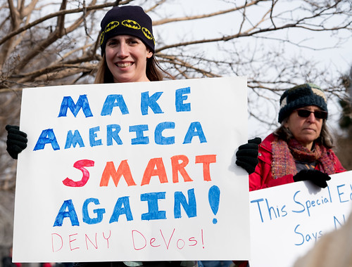 Protest of Betsy DeVos