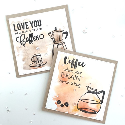 Altenew coffee card set