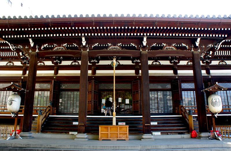 本堂/本能寺(Honno-ji Temple / Kyoto City) 2015/05/11