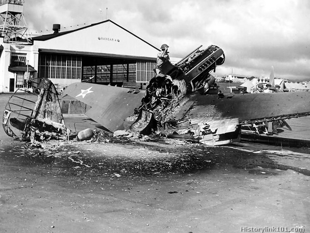 Hickam Air Force Base - Pearl Harbor WWII