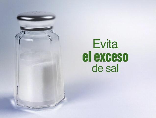 disminuir el consumo de sal a menos de 5 gramos al d u00eda  ay