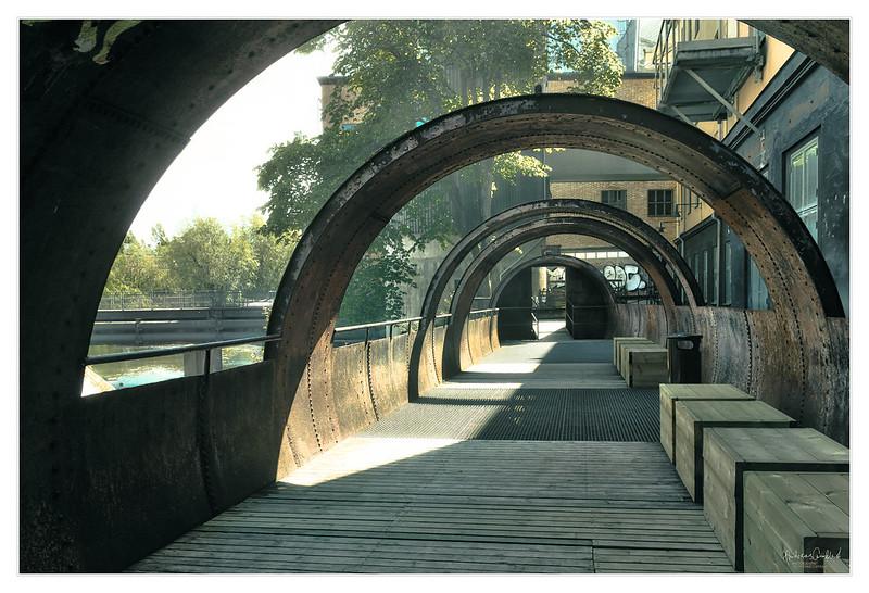 Cylindrical Walkway