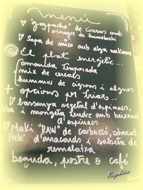 comida en Integral de Figueres