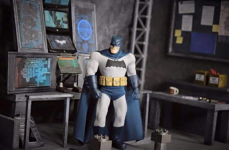 Custom made dioramas by Louise Townend - Batman