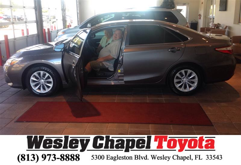 ... Happy Anniversary To Dearl On Your #Toyota #Camry From Ross MacDonald  At Wesley Chapel