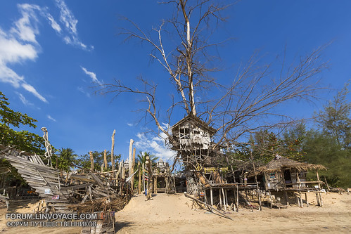 Hippies bar on a deserted beach, Phayam island, Thailand XOKA0688bs | by forum.linvoyage.com