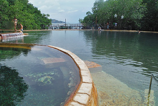Coron - Maquinit hot springs pools