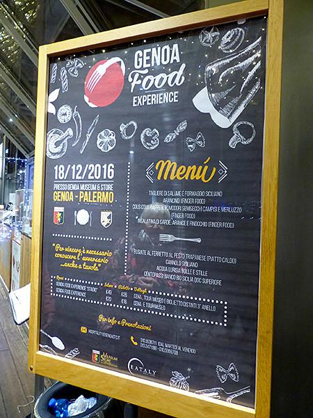 genoa food  experience