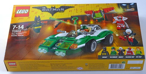 LEGO The Batman Movie 70903 The Riddler Riddle Racer 01