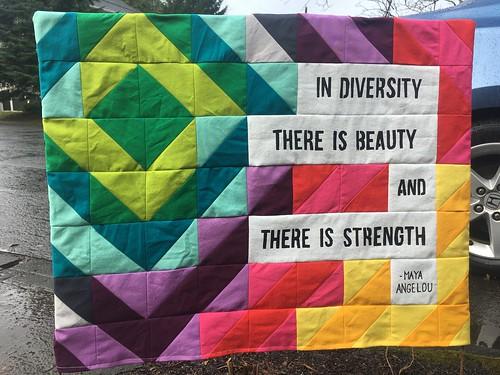 Diversity Yard Sign in Situ