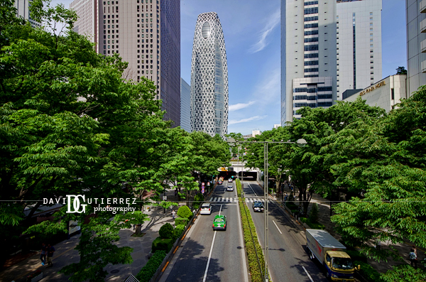 """Cocoon Tower"" Shinjuku, Tokyo, Japan - David Gutierrez Photography, London photographer"