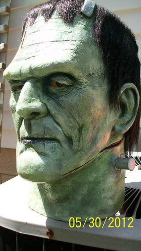 BrazenMonkey costume design and sculpting by John Marks - Frankenstein's Monster