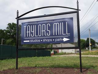 Taylors Mill sign - 2