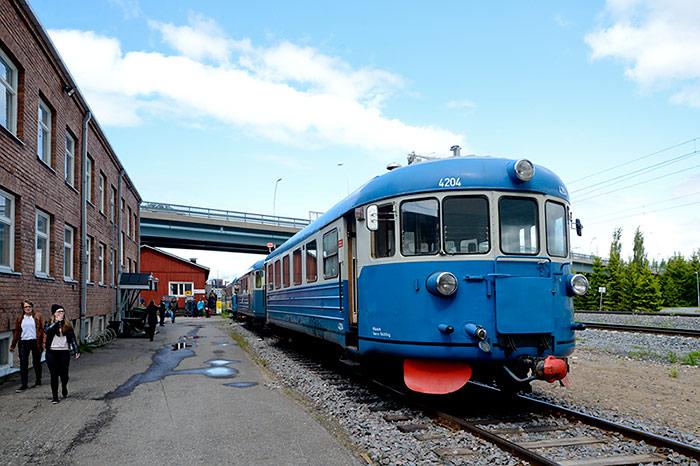 """Museum train """"Lättähattu"""""""