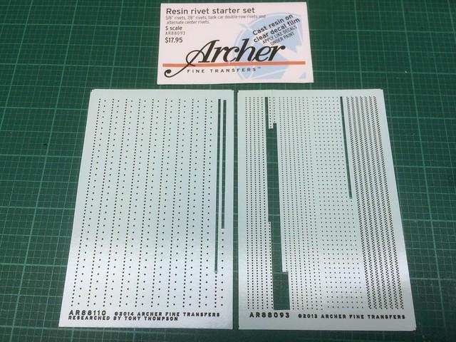 Archer Resin Rivet Decals - FineScale Modeler - Essential