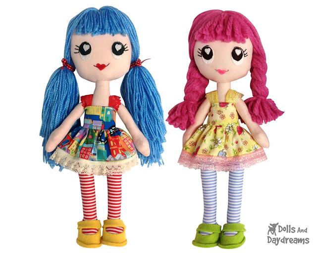 Poppy Poppet Pocket Dolly
