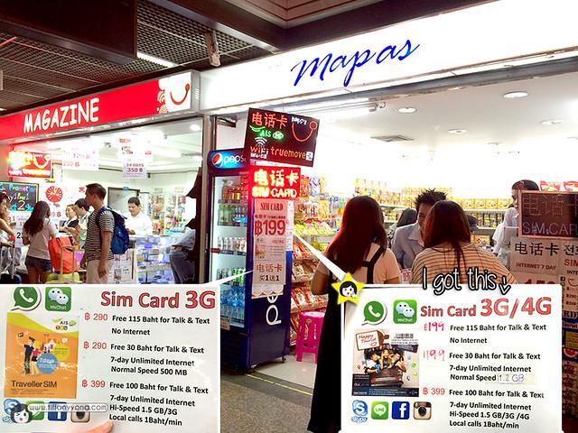 Don Muang Airport SIM Card
