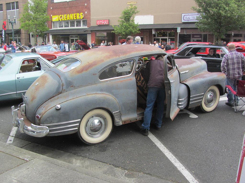 Everett Chevrolet >> 1947-48 Chevrolet Fleetline Aero | Cruise on Colby Avenue ...