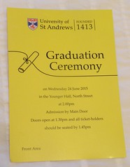 Graduation St Andrews