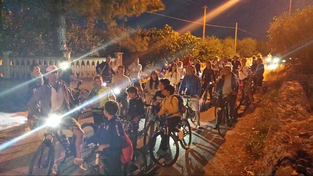 ciclopedalata sulla strada del rientro
