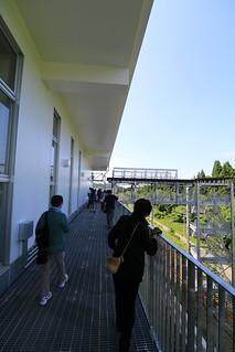 奥津軽いまべつ駅 避難通路