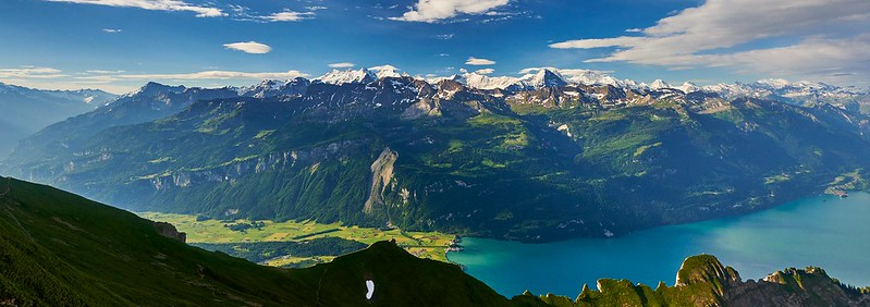 Mountain panorama - Brienzer Rothorn