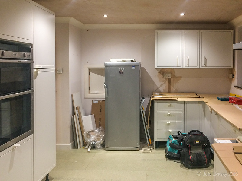 Day 9 - the oven is in too