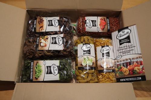 Paket mit Nudeln von Pastatelli