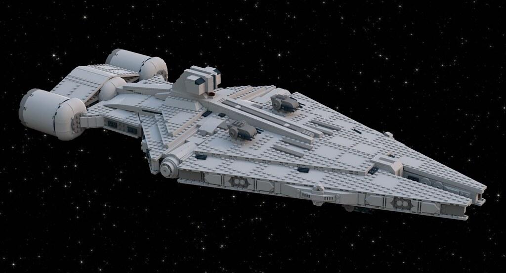 Arquitens Class Light Imperial Cruiser Lego Star Wars Eurobricks