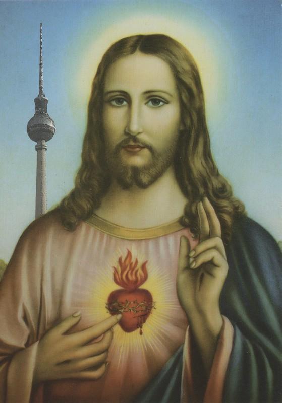 Jésus et la tour de télévision à Berlin, oui, pourquoi pas ?