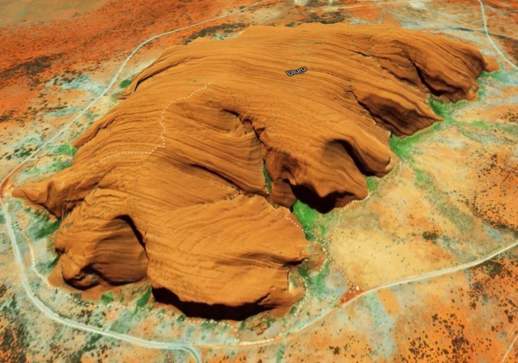 3D Map of rocks
