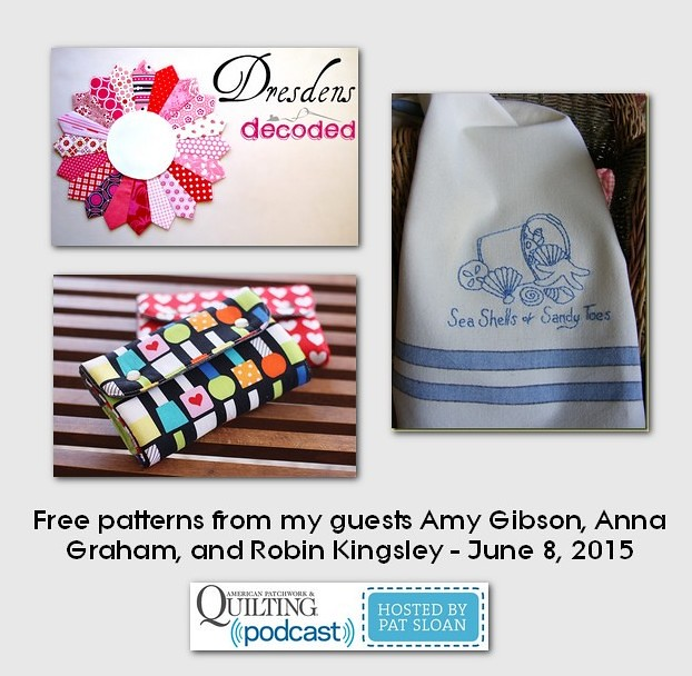 pat sloan June 8 2015  free patterns