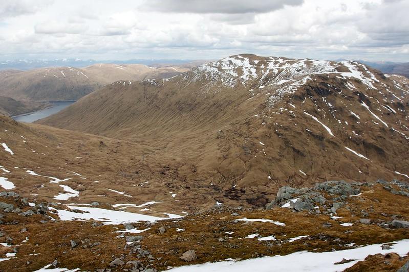 Loch Lyon and Beinn Heasgarnich from Creag Mhor